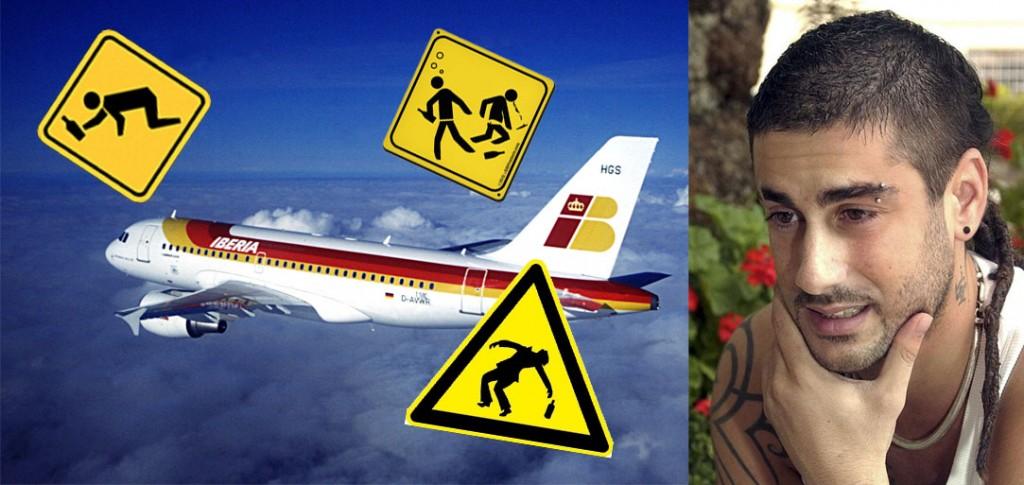 No hagas un melendi en el avión por miedo a volar
