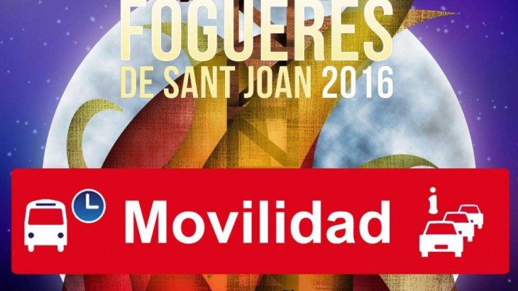 info movilidad fogueres 2016