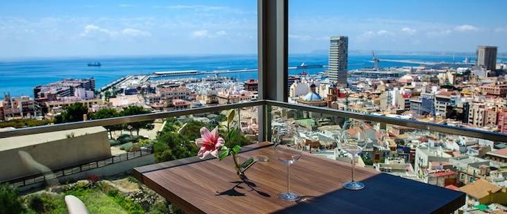 Terrazas con vistas de Alicante