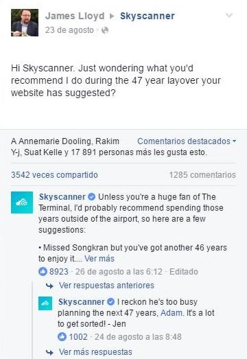 Respuesta de Jen CM skyscanner escala 47 años