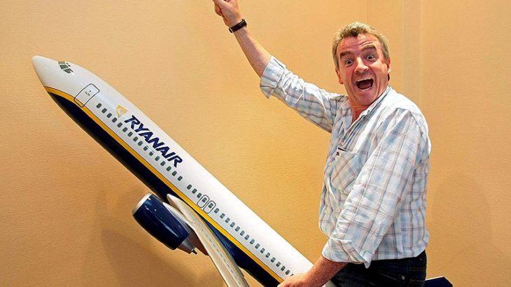 Ryanair cobrará por el equipaje de mano en cabina