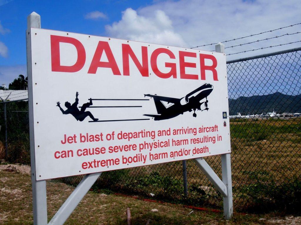 Peligro aproximaciones en aeropuerto Princesa Juliana