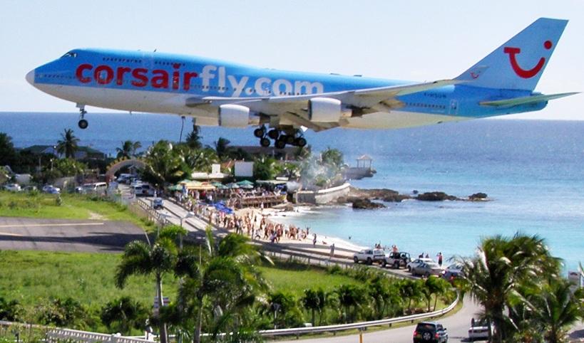 El vuelo internacional más corto del Mundo: St, Marteen - Anguila