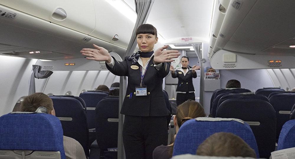 Indicaciones de seguridad de la tripulación de cabina