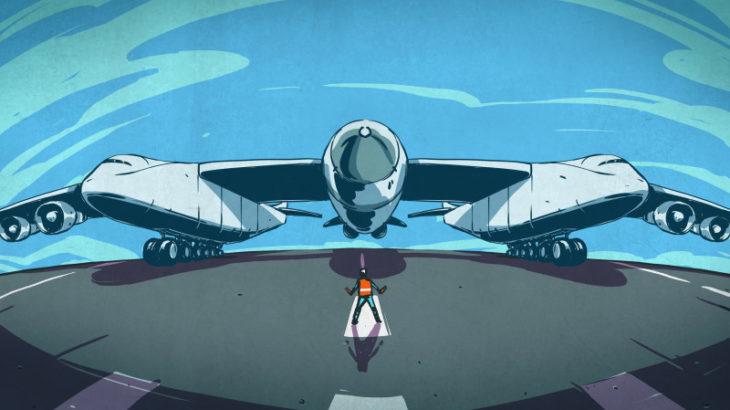 Stratolaunch el avion más grande del mundo ha volado por primera vez