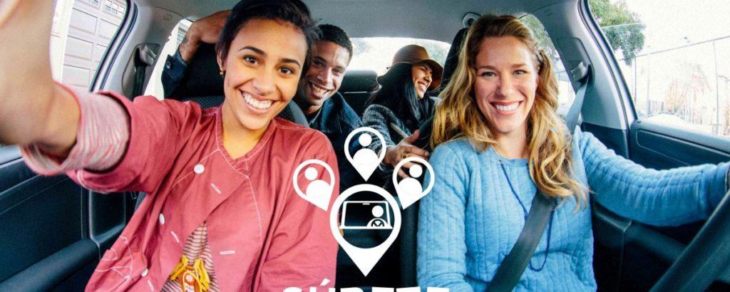 Formas de compartir coche: Súbete - Carpooling