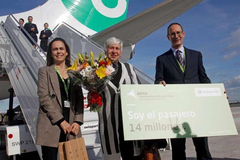 pasajero 14 millones Aeropuerto Alicante