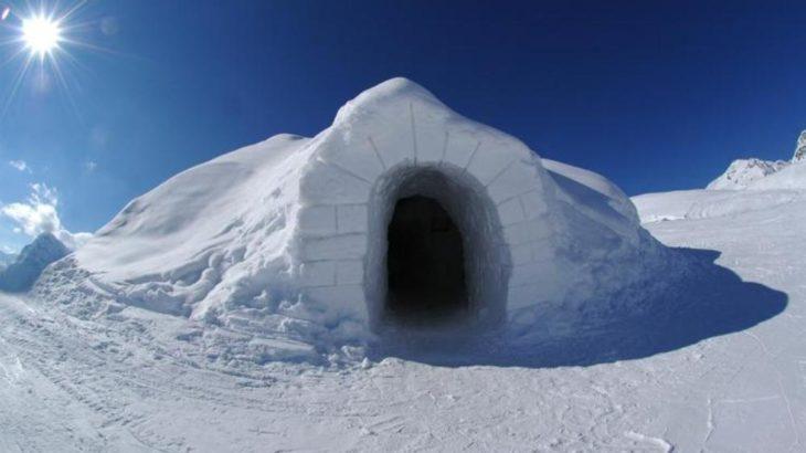 Dormir en un iglú