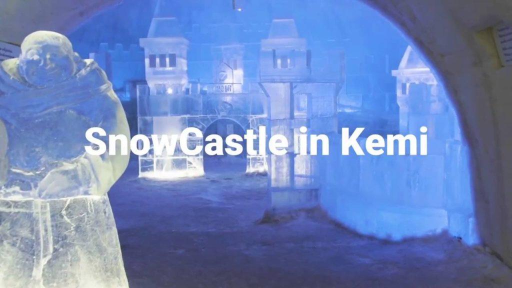 SnowCastle en Kemi